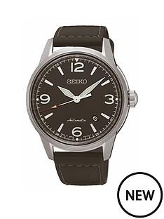 seiko-seiko-mens-stainless-steel-case-black-leather-strap-watch