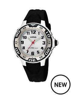 lorus-kids-black-silicone-strap-watch