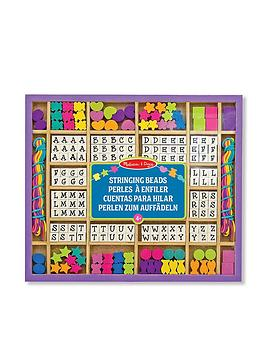 Melissa & Doug Melissa & Doug Wooden Stringing Beads Picture