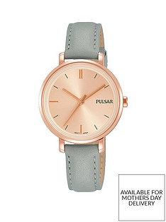 pulsar-rose-gold-plated-case-grey-leather-strap-ladies-watch
