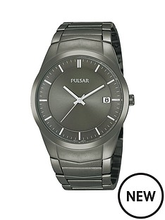 pulsar-pulsar-men039s-analogue-watch-with-a-grey-ion-plated-stainless-steel-case-and-bracelet-featuring-a-grey-dial