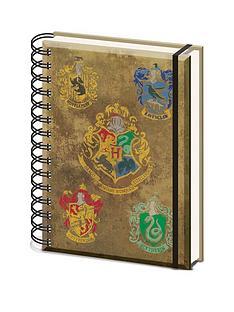 harry-potter-hogwarts-crest-a5-wiro-notebook