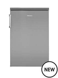 hisense-rl170d4bc2-55cmnbspwide-under-counter-fridge--nbspstainless-steel-effect