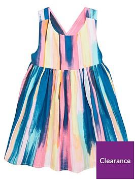 mini-v-by-very-girls-cross-back-dress-stripe