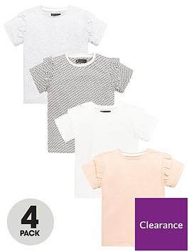 mini-v-by-very-girls-4-pack-ruffle-sleeve-t-shirtsnbsp--multi