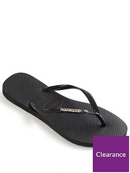 havaianas-slim-metal-logo-amp-crystal-flip-flop-sandal-black