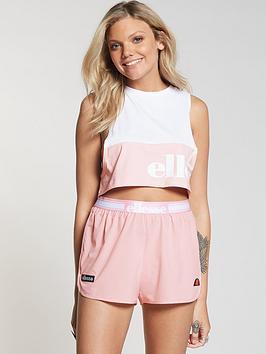 ellesse-carole-crop-vest-pinkwhite