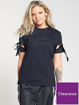 ellesse-barzini-applique-t-shirt-anthracitenbsp