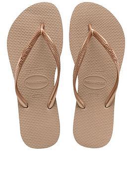 Havaianas Havaianas Slim Flip Flop Sandal - Rose Gold Picture