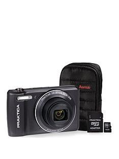 praktica-luxmedia-z212-le-graphite-camera-kit-includingnbsp16gbnbspmicrosd-card-andnbspcase