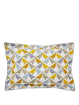 Scion Scion Lintu 180 Thread Count Cotton Percale Single Oxford Pillowcase Picture
