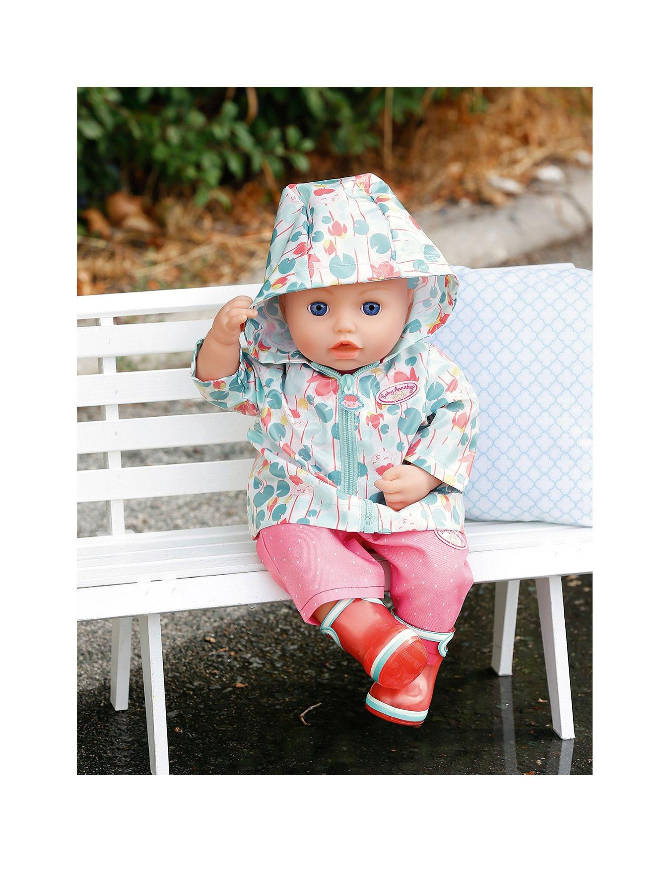 Compare prices for Baby Annabell Deluxe Set Puddle Jumping