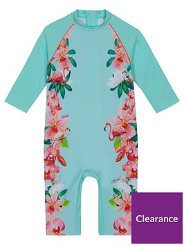 baker-by-ted-baker-girls-flamingo-floral-sunsafe