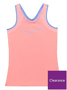 nike-older-girls-tank-coralnbsp