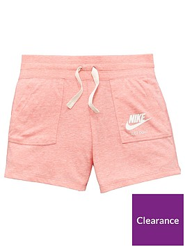 nike-older-girls-nswnbspvintage-short-coral