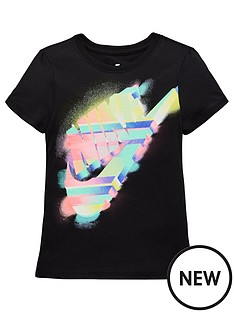 nike-older-girls-nswnbsppainted-tee-blacknbsp