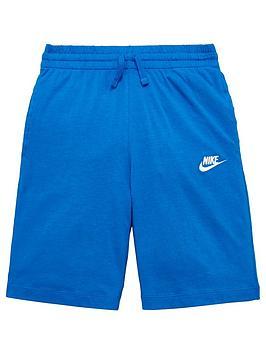 nike-sportswearnbspolder-boysnbspjersey-short-blue