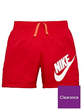 nike-older-boys-nsw-short-red