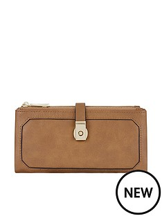 accessorize-accessorize-tan-soft-double-flap-wallet-purse