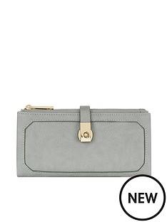 accessorize-accessorize-grey-soft-double-flap-wallet-purse