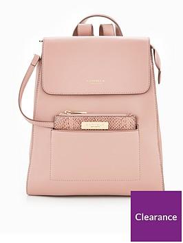carvela-slinky-pocket-backpack-pink
