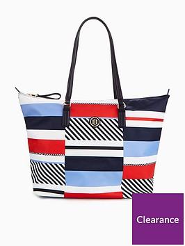 tommy-hilfiger-tommy-hilfiger-poppy-stripe-nylon-tote-bag