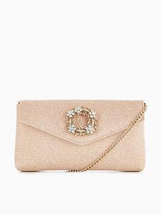 dune-london-brooch-trim-clutch-bag