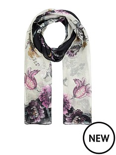 accessorize-diagonal-botanical-scarf