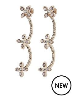 accessorize-triple-flower-ear-cuff