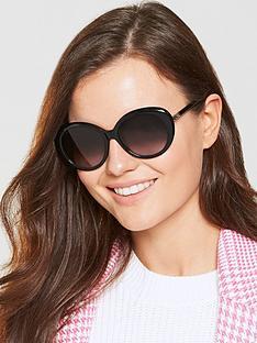 longchamp-oval-sunglasses-black