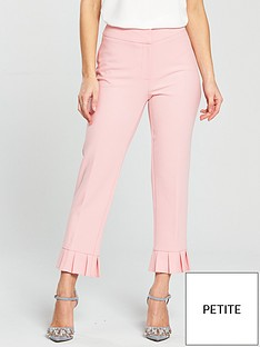 v-by-very-petite-petite-pleated-hem-trouser-blushnbsp