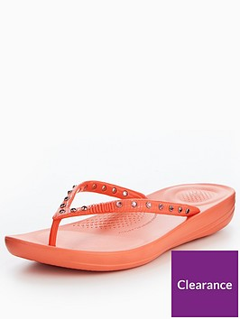 fitflop-iqushiontradenbspergonomic-flip-flop-crystal-coral