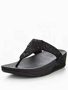 fitflop-glitterball-toe-post-sandal-black
