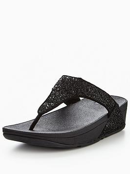 fitflop-glitterball-toe-post-sandal-black