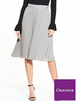 lost-ink-pleated-tie-waist-skirt-light-grey