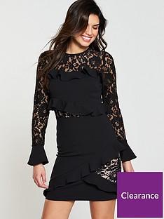 v-by-very-frill-lace-insert-dress-blacknbsp