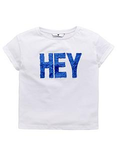 v-by-very-girls-faux-fur-039hey039-slogan-t-shirt