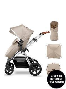 silver-cross-wave-pushchair-footmuff-parasol-amp-changing-bag-bundle