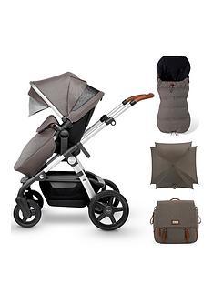 silver-cross-wave-pushchair-footmuff-parasol-andnbspchanging-bag-bundlenbsp