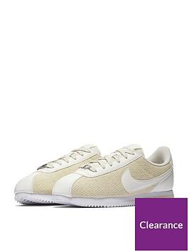 official photos cddbf e1a36 Nike Cortez TXT SE Junior Trainer - Beige