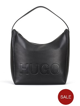 hugo-boss-mayfair-hobo-leather-bag-black