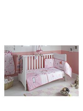 clair-de-lune-tippy-toes-cot-bed-quilt-and-bumper-set