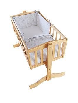 Clair De Lune Stars &Amp; Stripes Crib Bedding Set