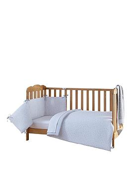 Clair De Lune  Stars &Amp; Stripes Cot Bed Bedding Set