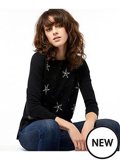 monsoon-skylar-shooting-star-jumper-black