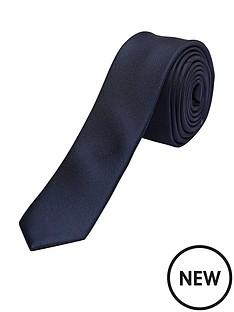 selected-homme-plain-silk-tie