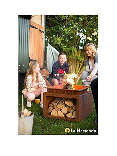 la-hacienda-ruga-oxidised-firepitnbspwith-logstore