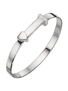 the-love-silver-collection-sterling-silver-childrens-heart-christening-bangle