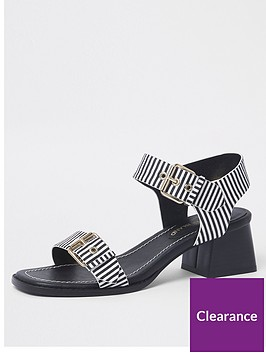 river-island-river-island-block-heel-sandal--dark-navy-stripe