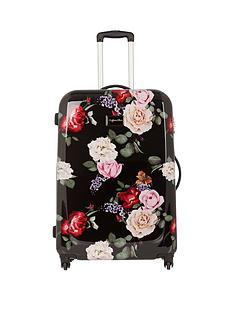 myleene-klass-myleene-klass-4-wheel-black-foral-large-case